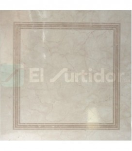 Piso Palace Deco 55x55 Beige 1.49m Porcelanite