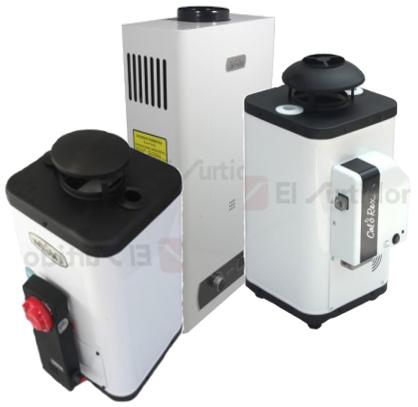 Calentadores de agua de paso calorex