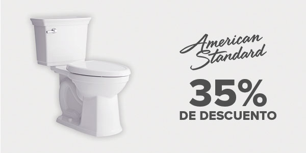 35% de descuento en American Standard