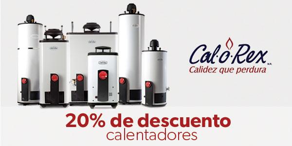 Calentadores Calorex -20%