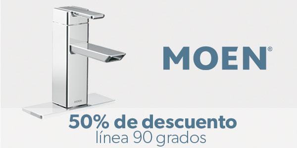 Línea 90 grados de Moen -50%