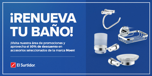 30% de descuento en accesorios seleccionados de Moen