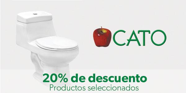 20% de descuento en Cato