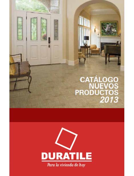 Duratile N.01 Catálogo 2013