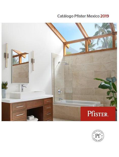 Catálogo Pfister Mexico 2019