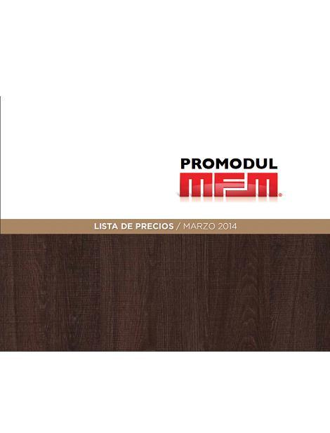 Promodul N.02 Catálogo general 2014