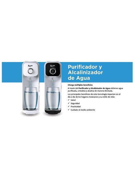 Catálogo purificador alcalinizador de Rotoplas
