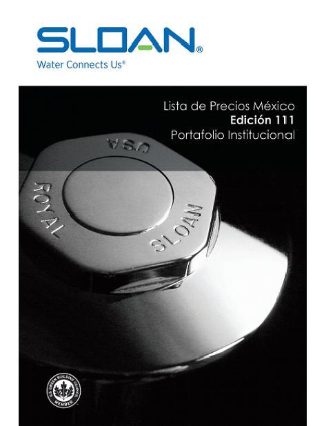 Sloan N.06 Catálogo general