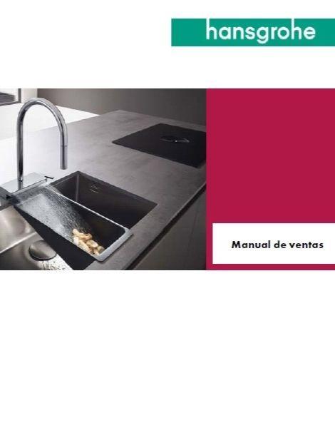 Hansgrohe manual de ventas cocina
