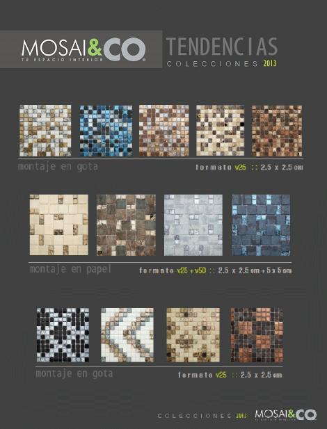 Mosaico Tendencias 2013