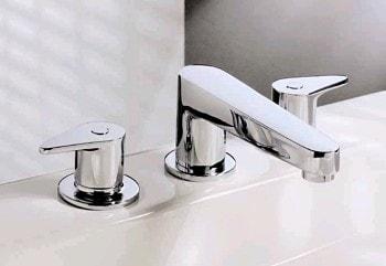 Monomandos y mezcladoras y llaves para agua el surtidor for Llave mezcladora para tarja
