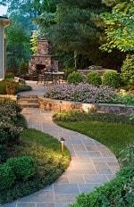 piso jardin curvo