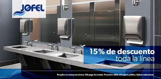 jofel 15% de descuento