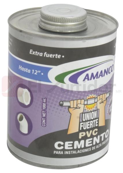 20%, Descuento en productos de cementar de la marca Amanco